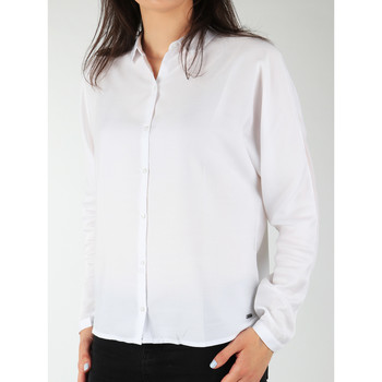 Clothing Women Shirts Wrangler Relaxed Shirt W5213LR12 white