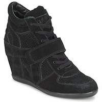 Shoes Women Hi top trainers Ash BOWIE Black