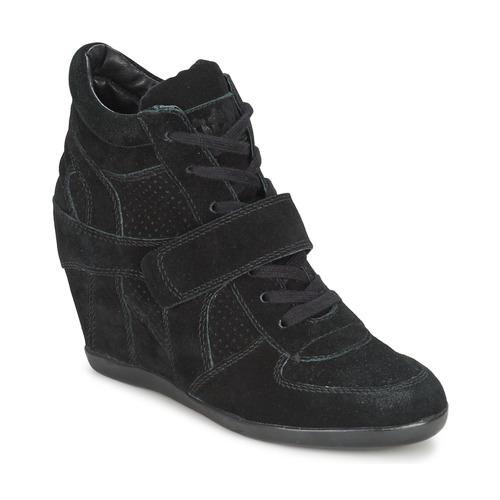 Shoes Women Hi top trainers Ash BOWIE Black