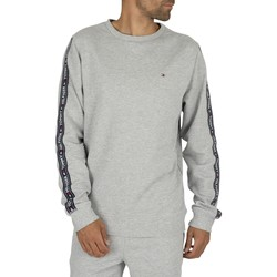 Clothing Men sweaters Tommy Hilfiger Track Sweatshirt grey