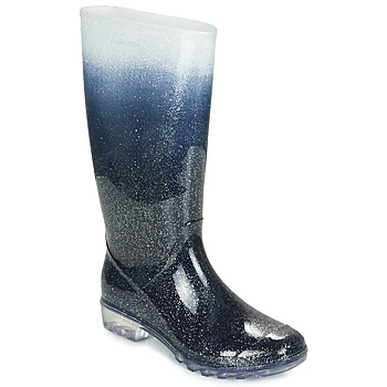 Shoes Women High boots André SIDONIE Blue