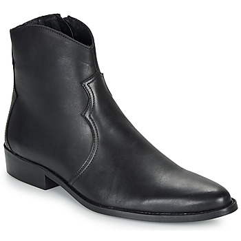 Shoes Men Mid boots André WESTERN Black