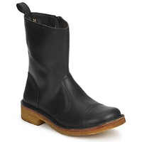 Shoes Women Mid boots Swedish hasbeens DANISH BOOT Black