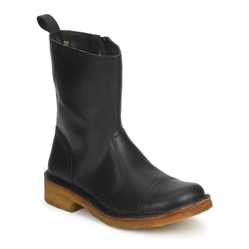 Shoes Women Ankle boots Swedish hasbeens DANISH BOOT Black