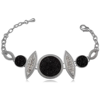 Watches Women Bracelets Blue Pearls CRY 8137 T Black