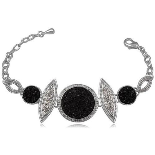 Watches & Jewellery  Women Bracelets Blue Pearls CRY 8137 T Black