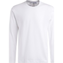 Clothing Men Long sleeved tee-shirts Comme Des Garcons Comme Des Garçons T-Shirt Long sleeve shirt in white cotton White