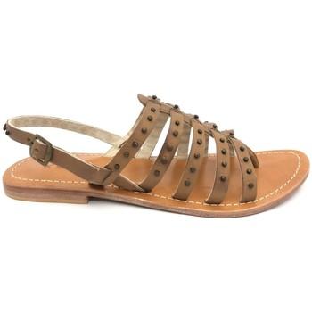 Shoes Women Sandals Nice Shoes sandales marron Brown