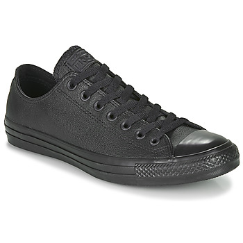 Shoes Low top trainers Converse ALL STAR LEATHER OX Black