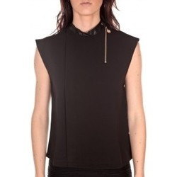 Clothing Women Tops / Blouses By La Vitrine Débardeur  noir Black
