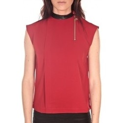 Clothing Women Tops / Blouses By La Vitrine Débardeur  Rouge Red