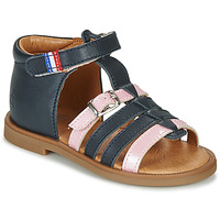 Shoes Girl Sandals GBB GUINGUETTE Blue
