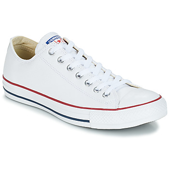 Shoes Low top trainers Converse ALL STAR LEATHER OX White