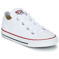 Shoes Children Low top trainers Converse ALL STAR OX White