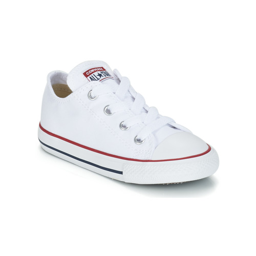 Shoes Children Low top trainers Converse ALL STAR OX White / Optical