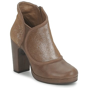 Shoes Women Shoe boots Esska TILLY Brown / Glitter