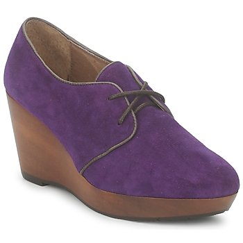 Shoes Women Shoe boots Esska CANE Purple