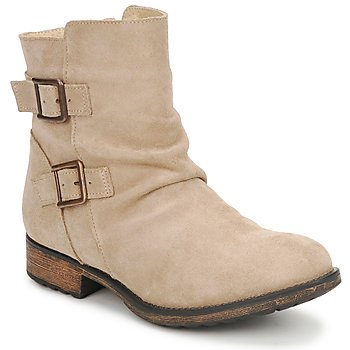 Shoes Women Mid boots Casual Attitude RIJONES Beige