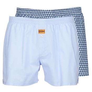Underwear Men Boxers DIM BOXER FLOTTANT x2 Blue