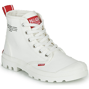 Shoes Mid boots Palladium PAMPA HI DU C White