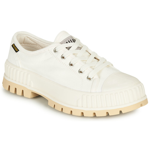 Shoes Women Low top trainers Palladium PALASHOCK OG White