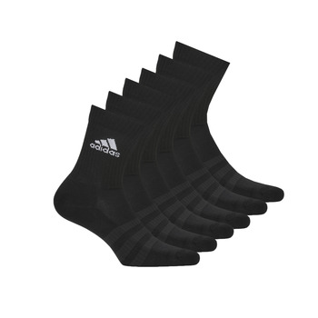 Shoe accessories Sports socks adidas Performance CUSH CRW 6PP Black
