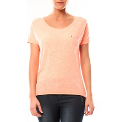 Clothing Women Short-sleeved t-shirts By La Vitrine Tee shirt S13090 Corail Orange