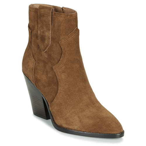 Shoes Women Ankle boots Ash RUSSET Brown