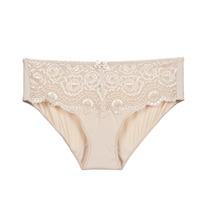 Underwear Women Knickers/panties PLAYTEX FLOWER ELEGANCE Beige