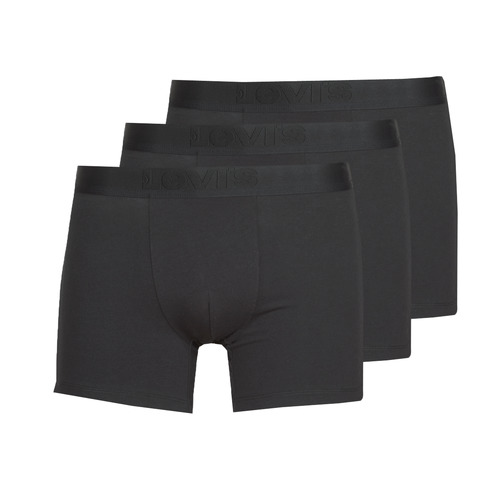 Underwear Men Boxer shorts Levi's PRENIUM BRIEF PACK X3 Black