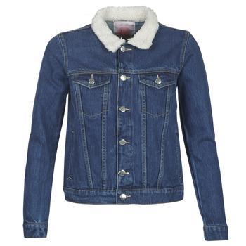 Clothing Women Denim jackets Moony Mood LOTITO Blue / Medium