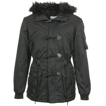 Clothing Men Parkas Eleven Paris MAURIZ Black