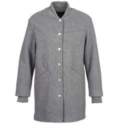 Clothing Women coats Eleven Paris PARC Grey