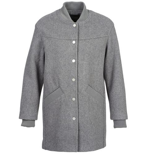 Clothing Women coats Eleven Paris PARC Grey