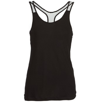 Clothing Women Tops / Sleeveless T-shirts Religion DELICATE Black