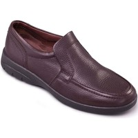 Shoes Men Derby Shoes & Brogues Padders Leo Mens Casual Slip On Shoes brown