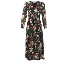 Clothing Women Long Dresses Betty London LIMBA Black / Multicoloured