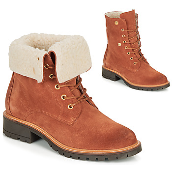 Shoes Women Mid boots André BALADE Orange