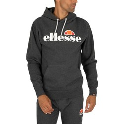 Clothing Men Sweaters Ellesse SL Gottero Pullover Hoodie grey