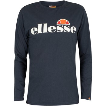 Clothing Men Long sleeved tee-shirts Ellesse SL Grazie Longsleeved T-Shirt blue