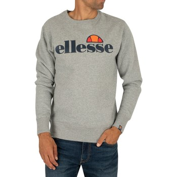 Clothing Men Sweaters Ellesse SL Succiso Sweatshirt grey