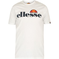 Clothing Men Short-sleeved t-shirts Ellesse SL Prado T-Shirt white