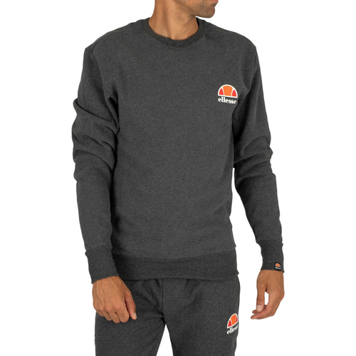Clothing Men Sweaters Ellesse Diveria Sweatshirt grey