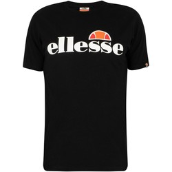 Clothing Men Short-sleeved t-shirts Ellesse SL Prado T-Shirt black