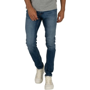 Clothing Men slim jeans Jack & Jones Glenn Original 814 Slim Jeans blue