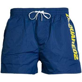 Clothing Men Trunks / Swim shorts Dsquared D7B642420_300navy blue