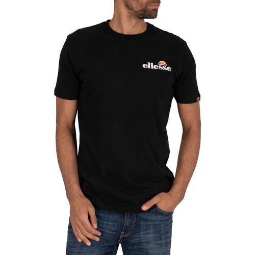 Clothing Men Short-sleeved t-shirts Ellesse Voodoo T-Shirt black