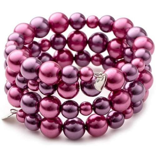 Watches Women Bracelets Blue Pearls OCP 0132 FUSHIA Multicolored