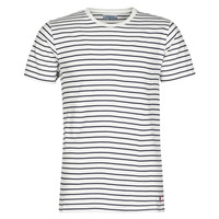 Clothing Men Short-sleeved t-shirts Casual Attitude KINO Marine / White