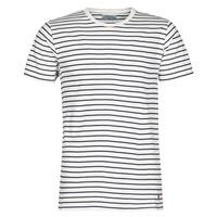 Clothing Men Short-sleeved t-shirts Yurban KINO Marine / White